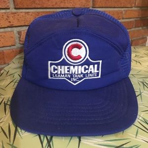 Vintage Chemical Company Embroidered SnapBack Hat